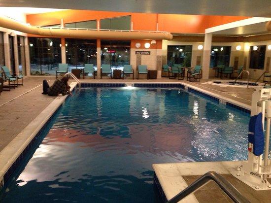 Residence Inn Midland Beautiful Indoor Swimming Pool