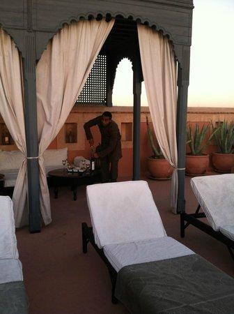 Riad Samarkand: Rooftop terrace