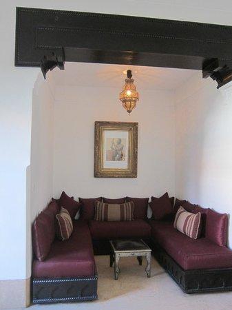 Riad Samarkand: Sitting area in my room