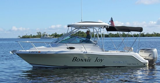 Charlotte Harbor Tours: The Bonnie Joy At Cayo Costa