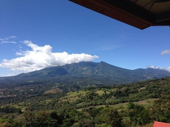 Cabanas El Parador: Volcan Baru view from Cabañas El Parador