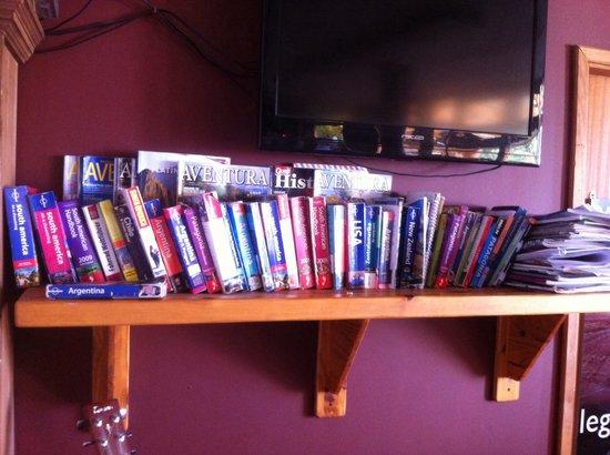 Hostel 41 Below: Guide books