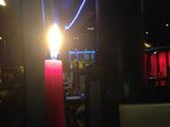 Rafayel on the Left Bank - Hotel & Spa: candle lit dinner