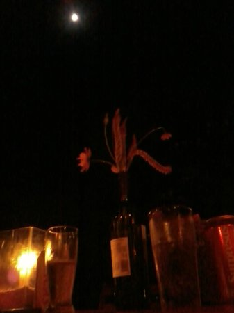 Restaurante La Luna: Luz de Velas e da Lua
