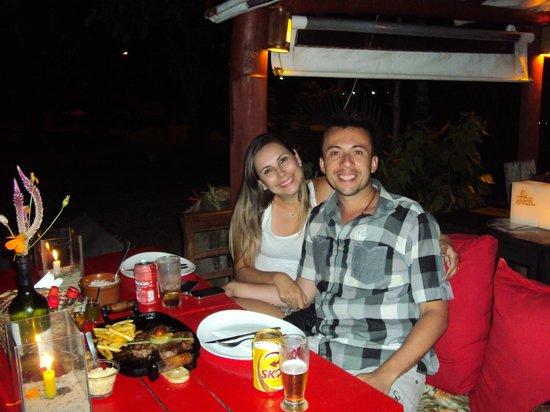 Restaurante La Luna: Nós
