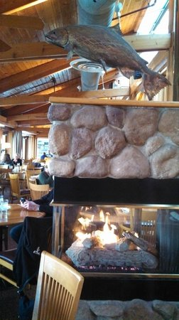 Ray's: Cool Fireplace