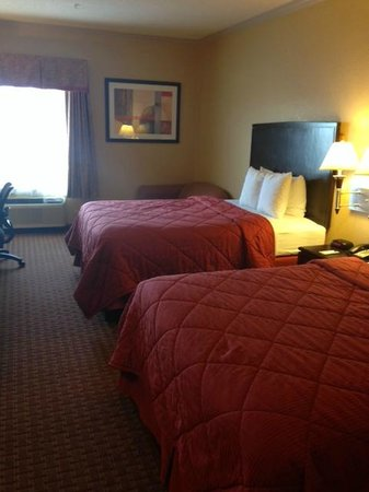 Comfort Inn & Suites: view of room