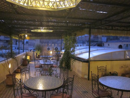 Riad Rcif: View from rooftop terrace