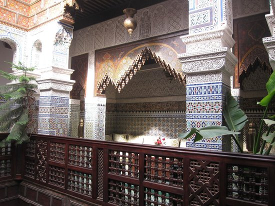 Riad Rcif : Beautiful architecture