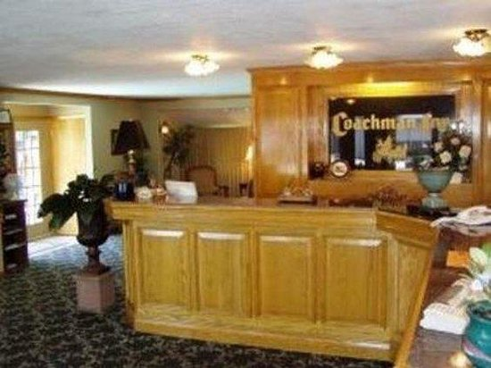 The Coachman Inn: Lobby view
