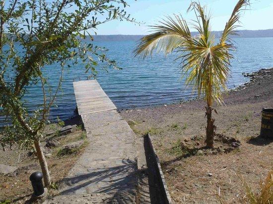 San Simian Eco Lodge: Dock