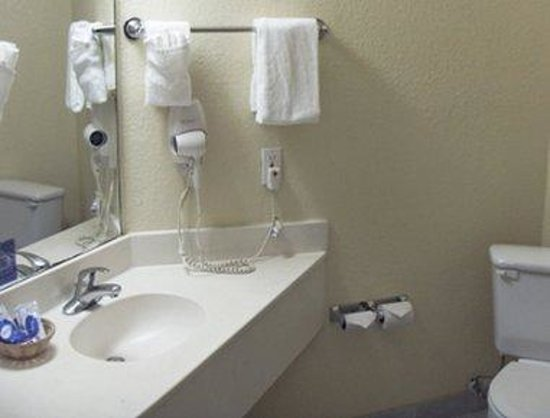 Woodland Inn Houston Bush Intercontinental Airport: Bathroom