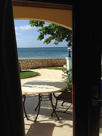 Sandals Montego Bay : the view from our suite
