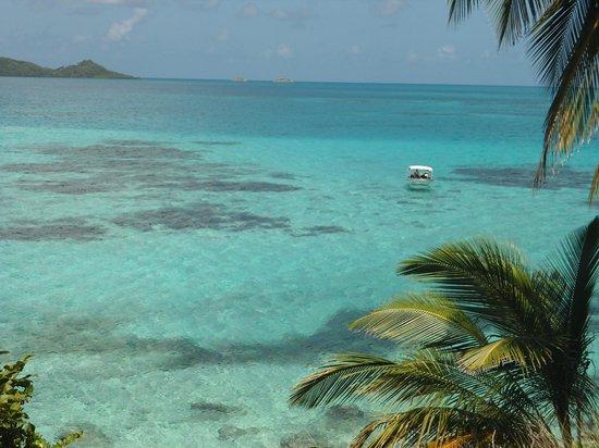 Crab Cay: foto de cima