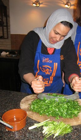 Cafe Clock Cooking School : Souad
