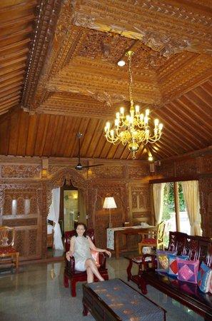 Ayung Resort Ubud : Sitting room