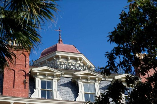 Wentworth Mansion: Our cupola offers a 360-degree view of Charleston
