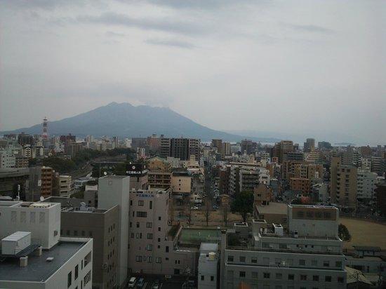 Solaria Nishitetsu hotel Kagoshima: 桜島ビュー