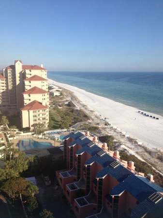 Hilton Sandestin Beach, Golf Resort & Spa: nice view from 15th floor balcony