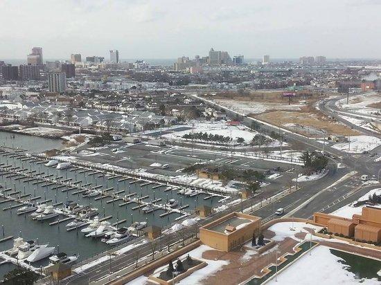 Golden Nugget Atlantic City: Looking toward the boardwalk casinos