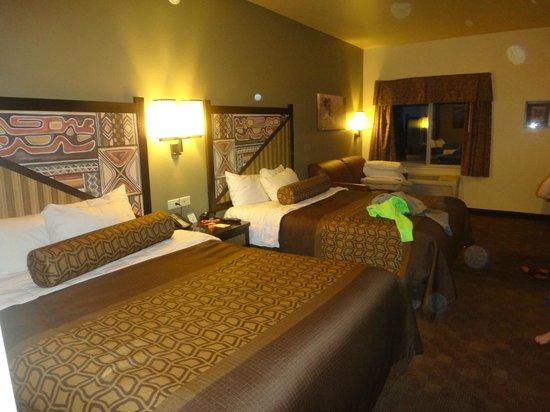 Kalahari Resorts & Conventions: notre chambre