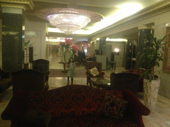 Al Gosaibi Hotel: لوبي الفندق