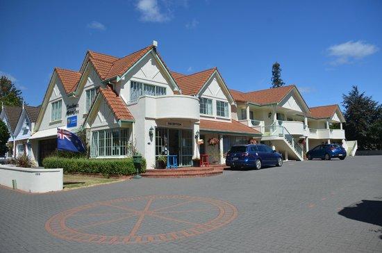 Rotorua Coachman Spa Motel: Motel Entrance