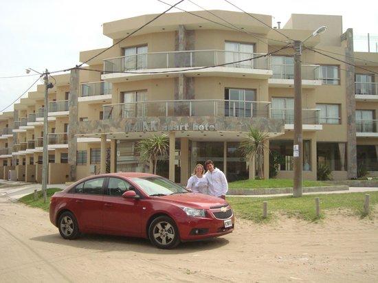 Mallak Apart Hotel: Frente del hotel
