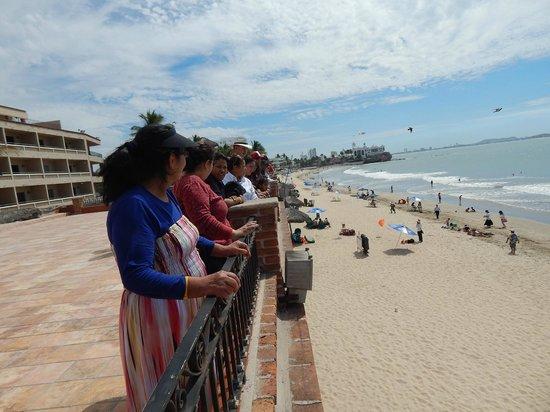 Hotel Playa Mazatlan : Terraza mirador