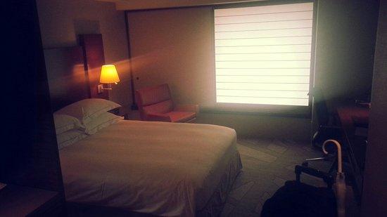 Hilton Tokyo: Japanese style windows.