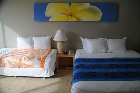Hilo Naniloa Hotel: ファブリック使いが特徴の部屋