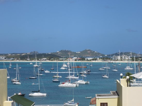 Simpson Bay Resort & Marina: View from top of Towers