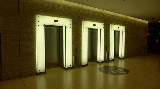 Vienna House Andel's Prague: エレベーター