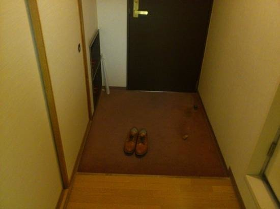 Banso Hotel: 玄関
