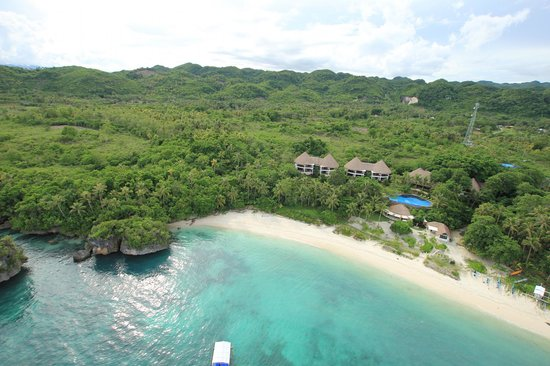 Amun Ini Beach Resort & Spa: Aerial shot