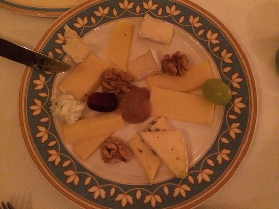 Pfistermuhle : Cheese plate