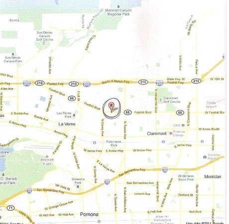 American Inn & Suites: Map