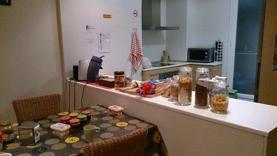 Itaca Hostel: Завтрак