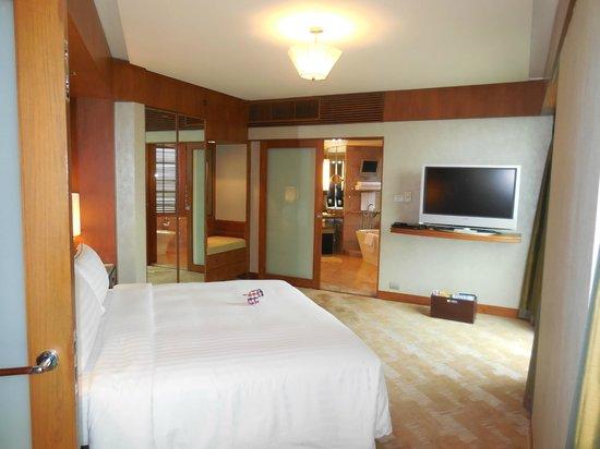 Conrad Bangkok Hotel : King Bedroom - Executive Suite