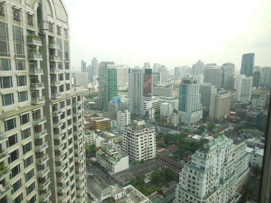 Conrad Bangkok Hotel : View from 30th Floor