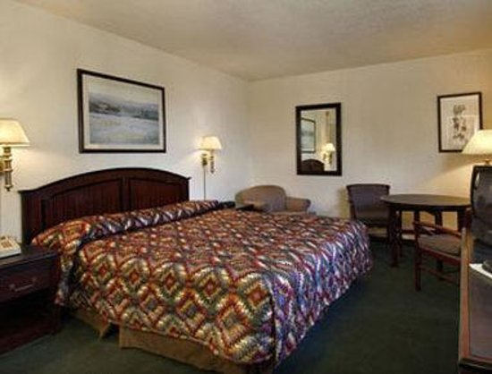 Yuma 4th Ave. Travelodge: Standard One King Bed Room