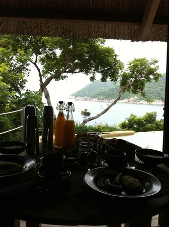 Six Senses Ninh Van Bay: view from day room