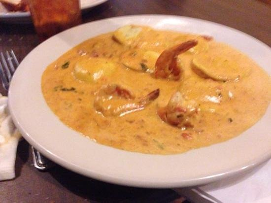 Prima's Pizza & Pasta: Lobster Ravioli with Shrimp
