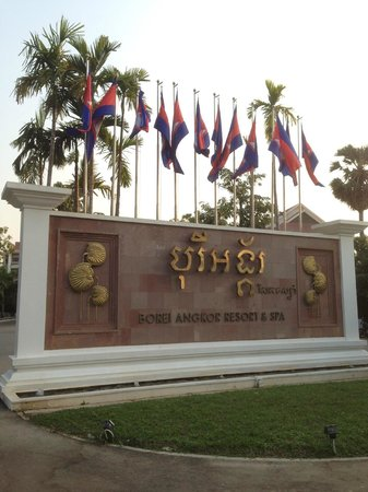 Borei Angkor Resort & Spa : Front