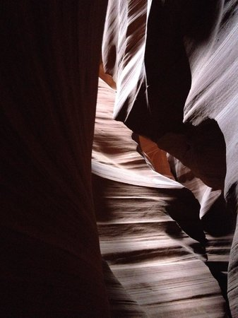 Antelope Slot Canyon Tours: Antelope Canyon, late aftenoon