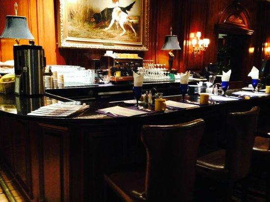 Adolphus Hotel: My morning latte stop