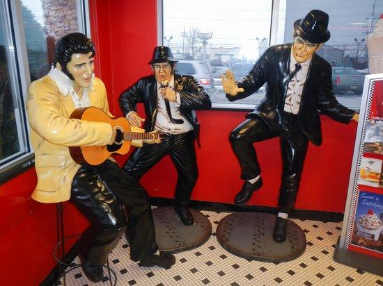 Steak 'n Shake: Elvis & The Blues Brothers