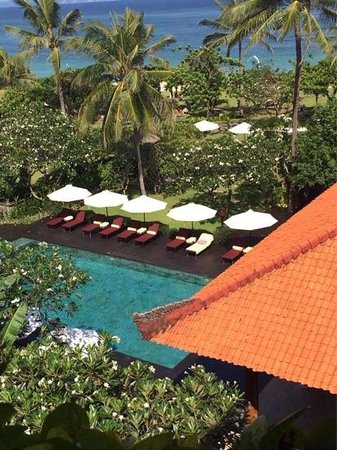 Ayodya Resort Bali: вид с балкона