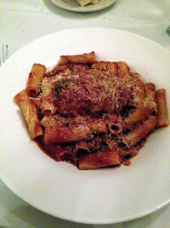 Dante & Luigi's: Rigatoni with Veal Braciole