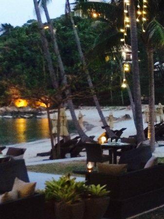 Banyan Tree Samui: beach area